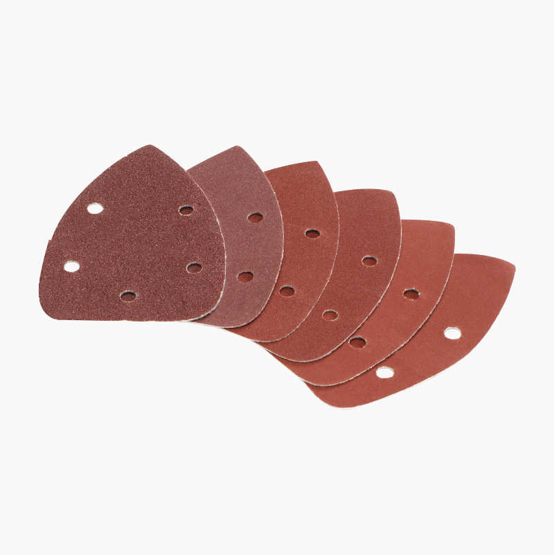 Sandpaper, 5-hole, 25-pack