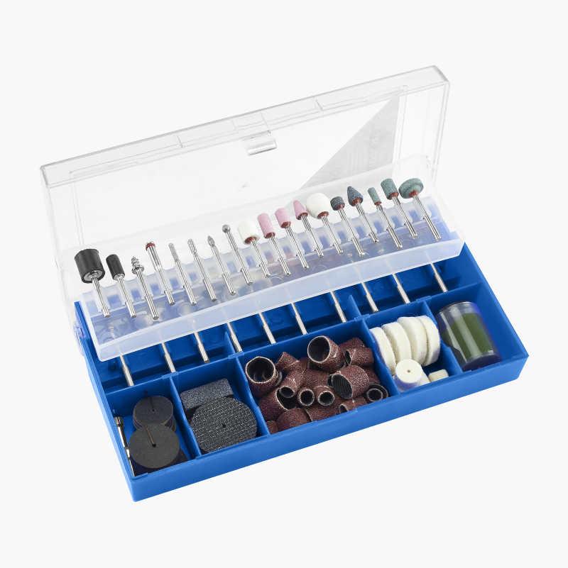 Accessory set, 150 parts for multi-tools / multi-sander