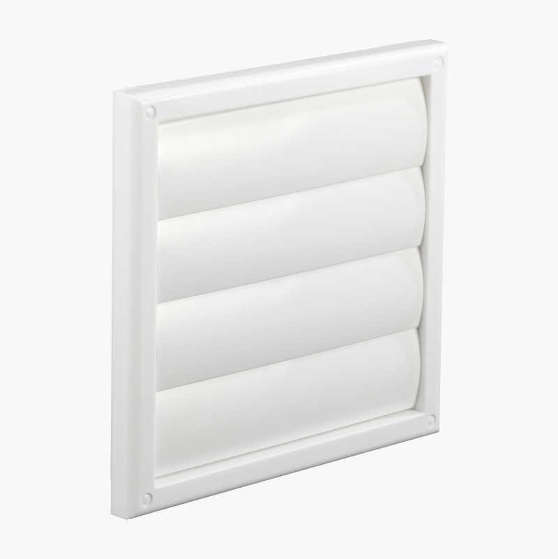 Ventilationsgaller med kallrasskydd