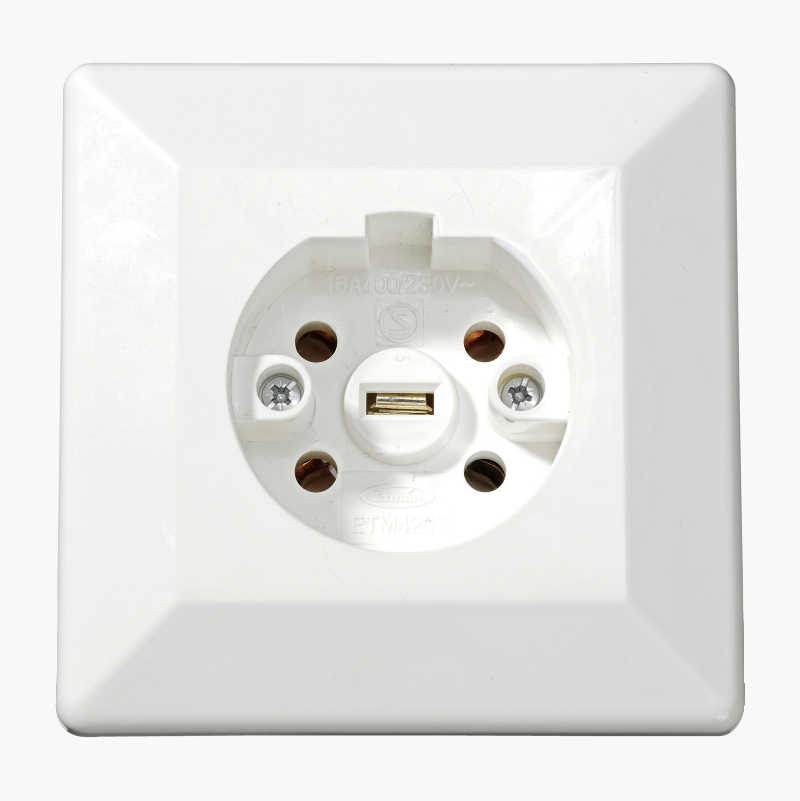 Cooker socket, perilex recessed