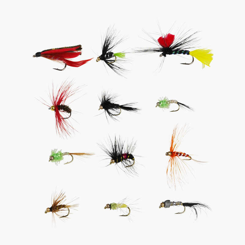 Fly Lures, 12-pack
