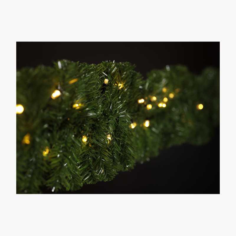 LED light strand, extendible