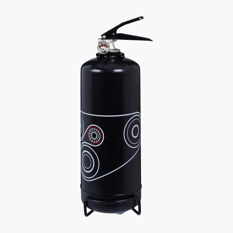 Designer Fire Extinguisher, powder, ABC