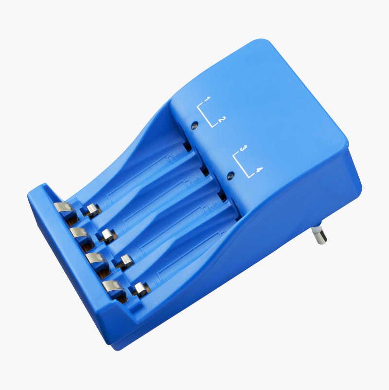 Kanon Batteriladdare med 4 st. LSD-batterier RH06/AA - Biltema.se LZ-12