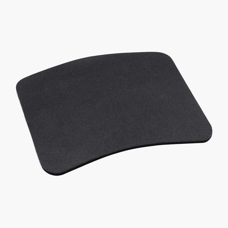 Mouse mat, rubber.