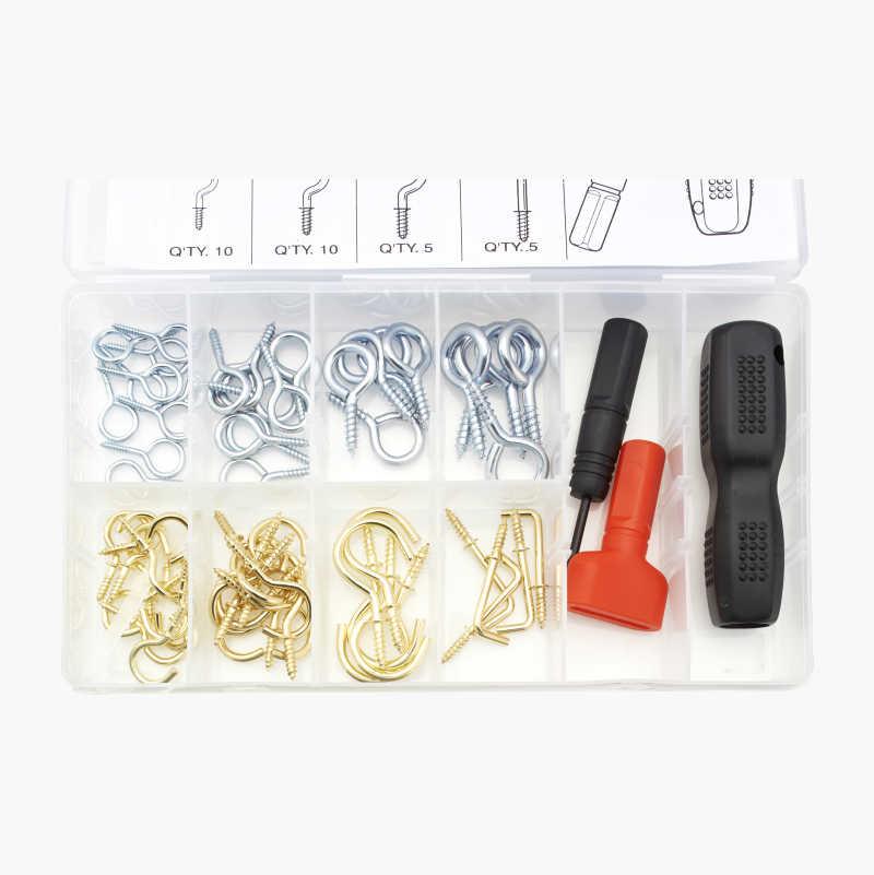 Kroksats med verktyg, 63 delar
