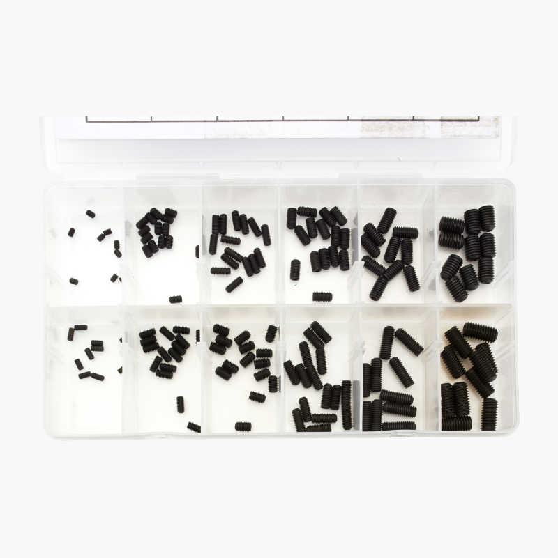 Locking screw set, 150 parts