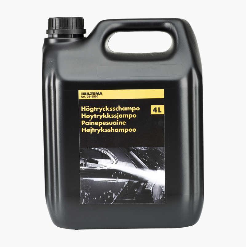High pressure shampoo