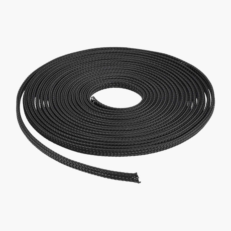 Plaited cable tidy