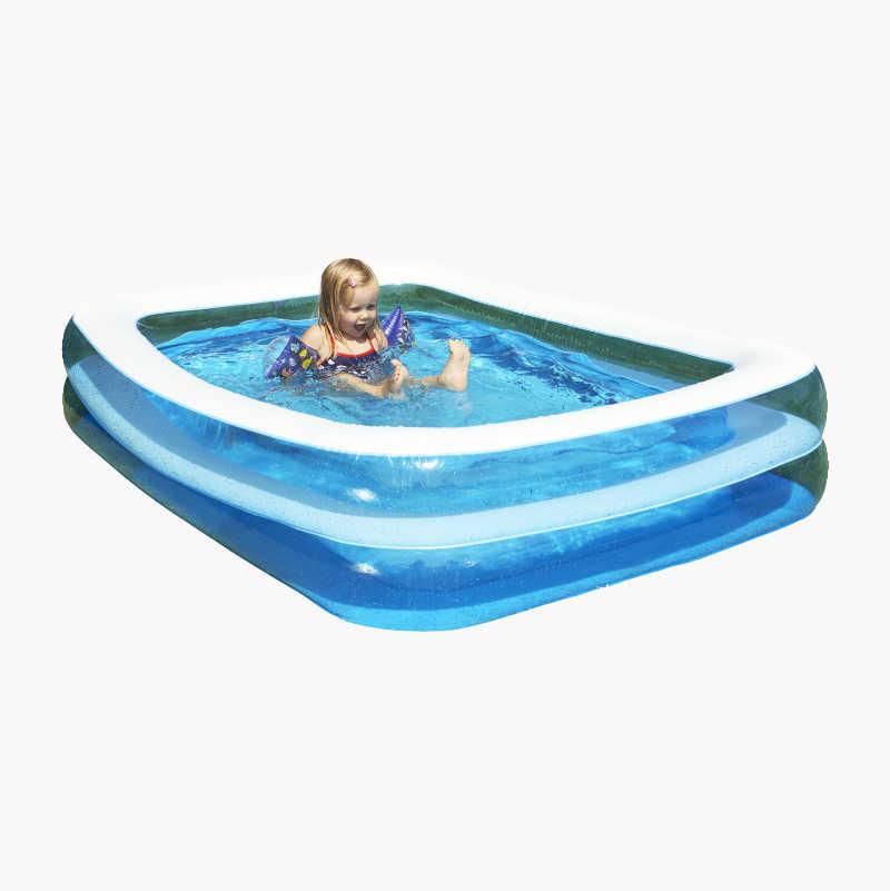 Badebasseng rektangulært