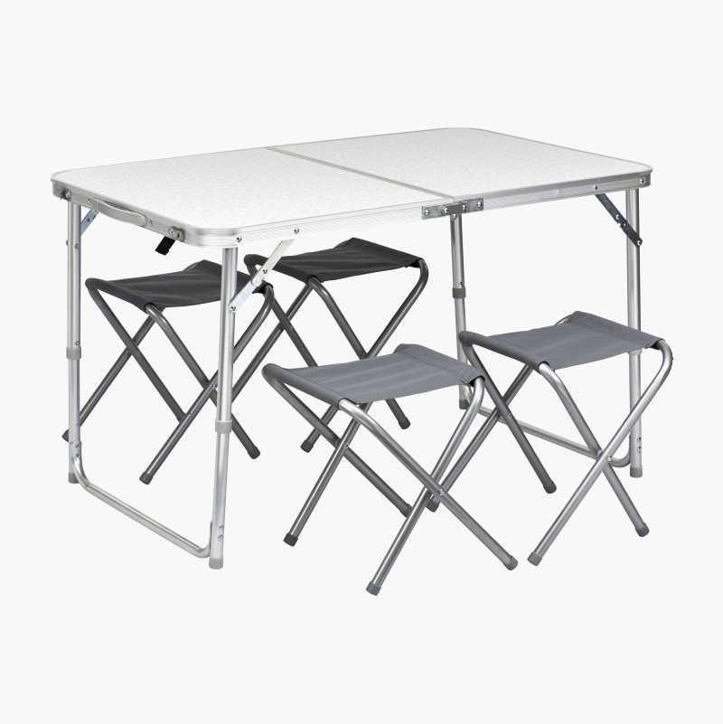 hopfällbart bord stolar