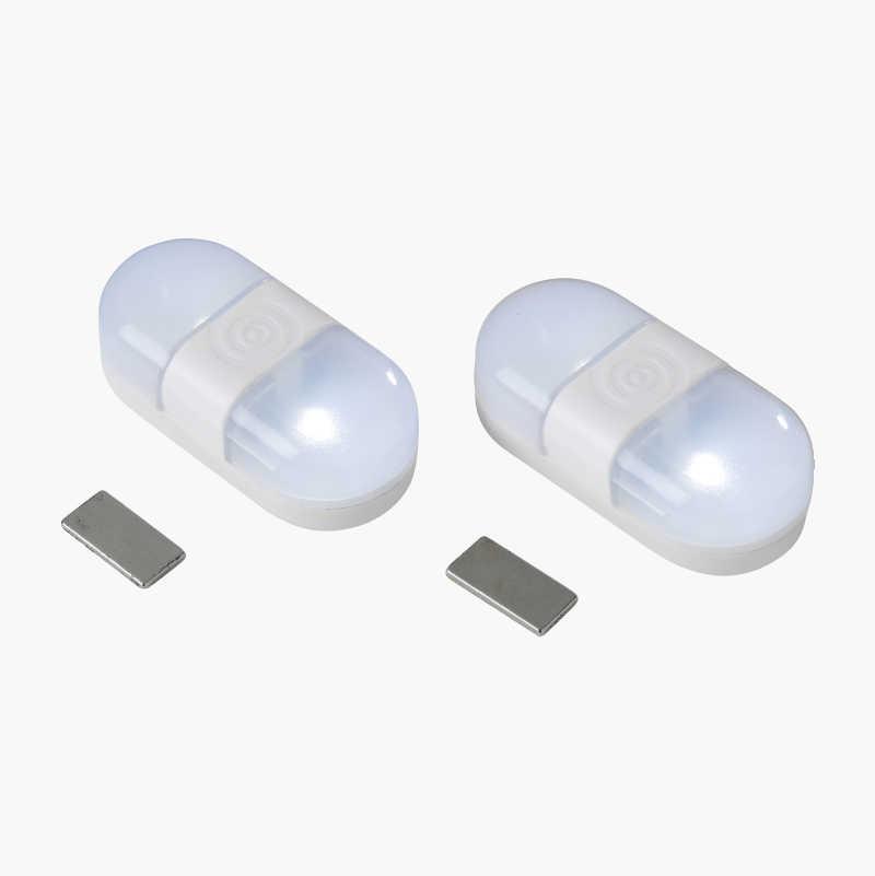 LED belysning med magnetbrytare