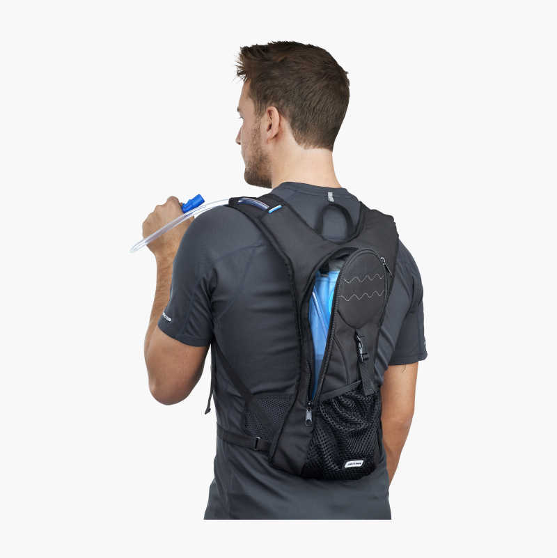Backpack with water system