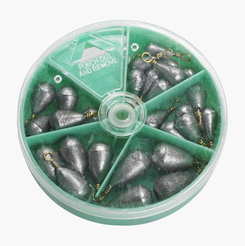 Assorted Zinc Sinkers
