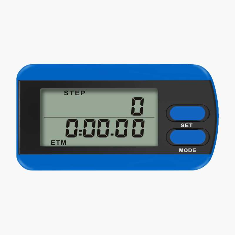 Digital pedometer