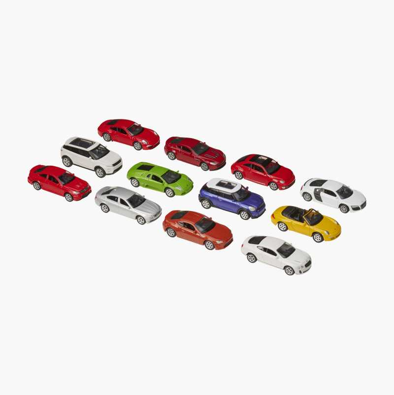 Toy Cars, 12-pack