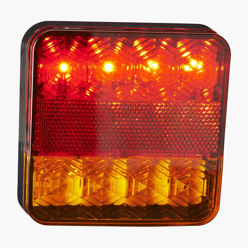 belysning släpvagn biltema