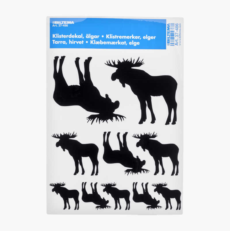 Moose Stickers