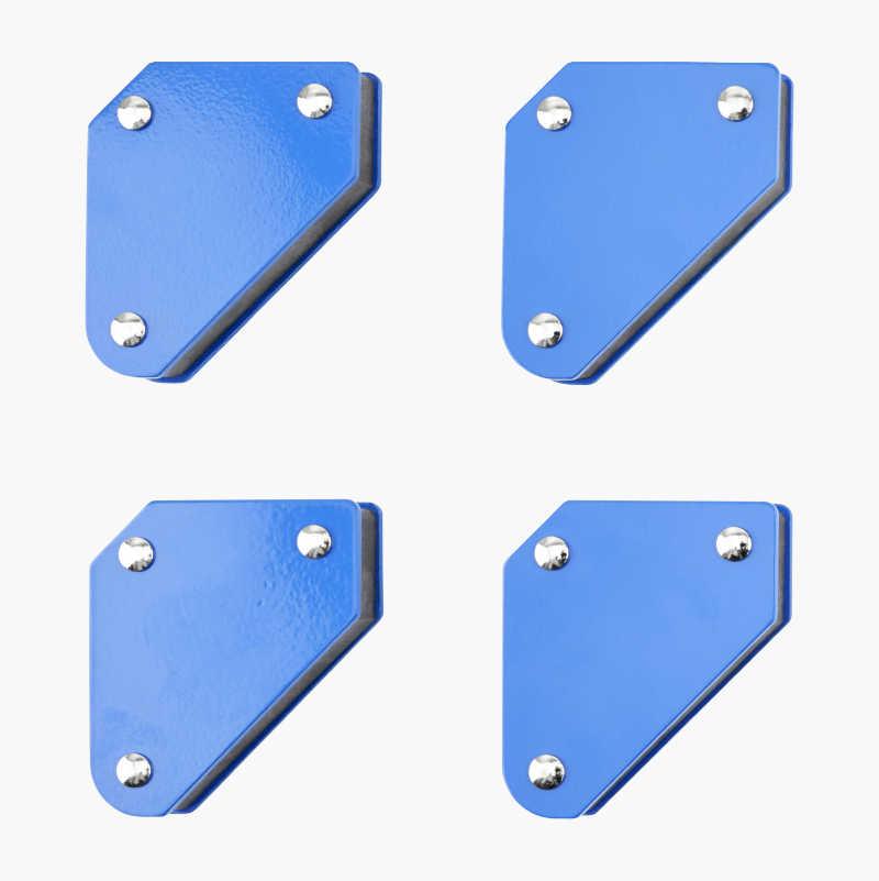 Magnetic set square, mini, 4 pcs.
