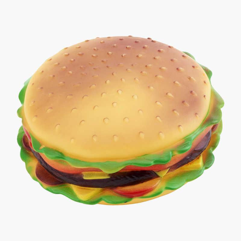 Hamburger Squeaky Toy
