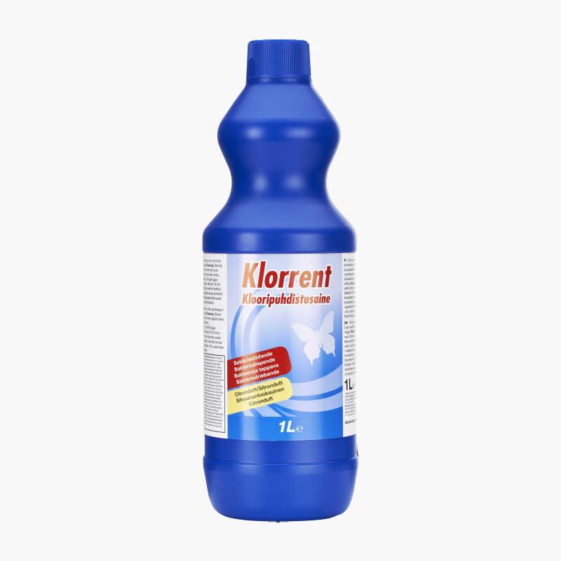 Chlorine cleaner