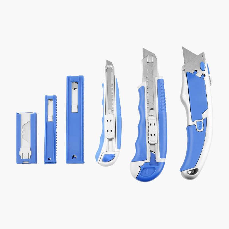 Knivset, 6 delar