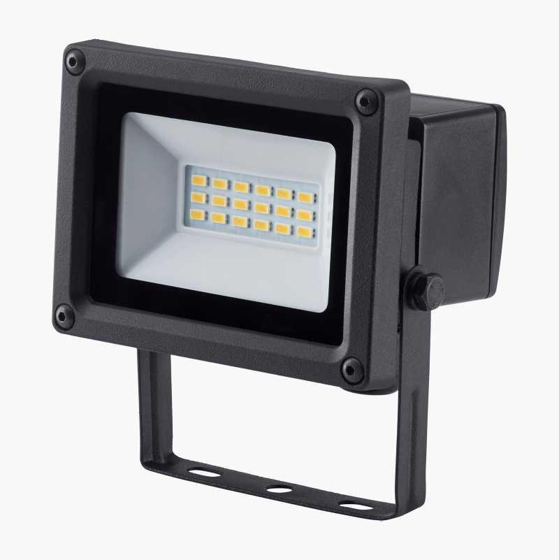 LED lyskaster med bevegelsesdetektor Biltema.no