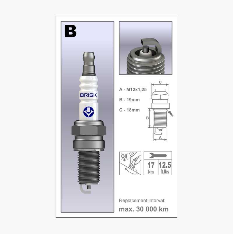 SPARK PLUG B12C