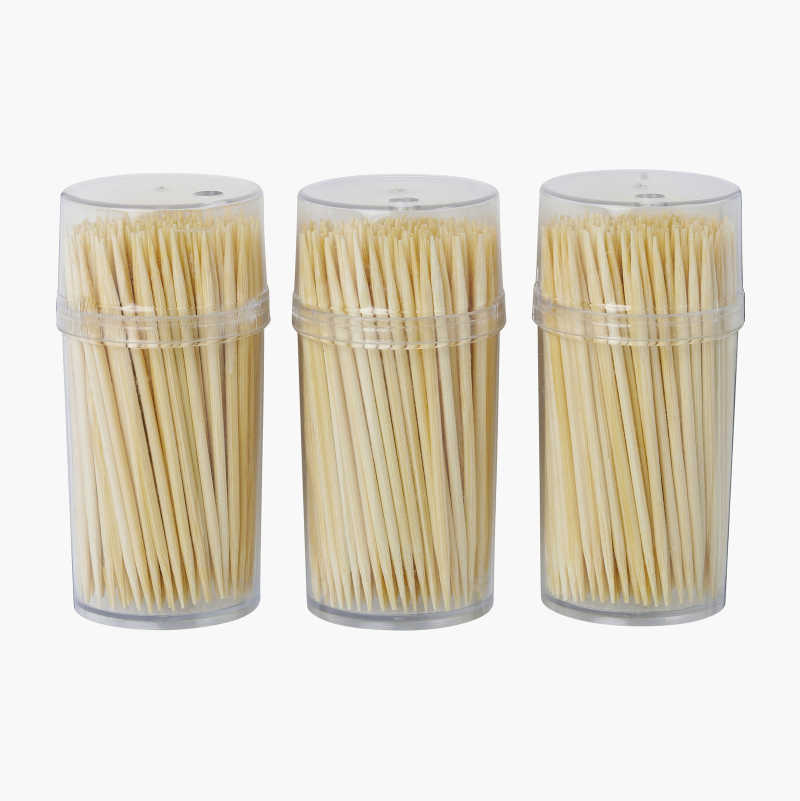 Toothpicks, 3 x 200-packs