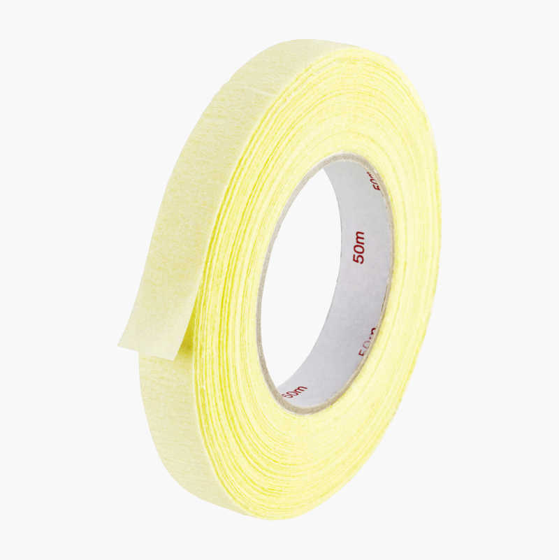 Masking tape for curves