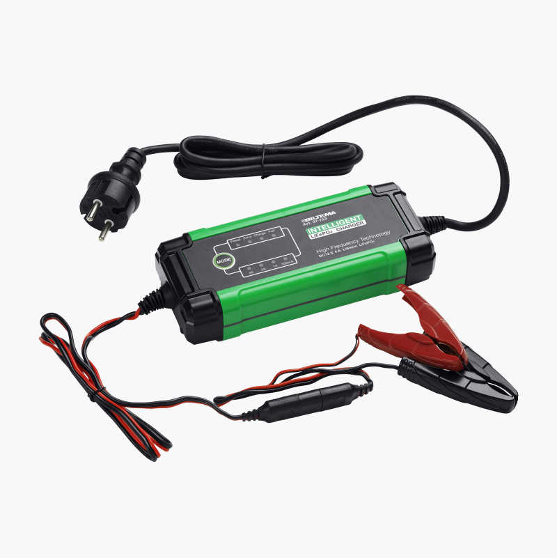 Battery Charger Lithium LiFePO4, 12 V, 4 A