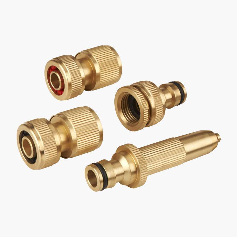 Hose Connectors, brass