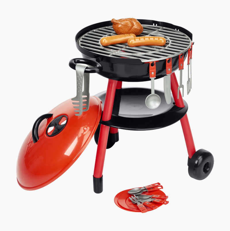 Toy Grill and Accessories