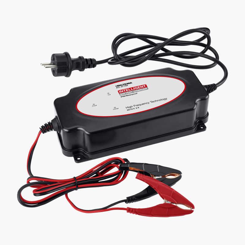 Batterilader IP68, 12 V, 8 A