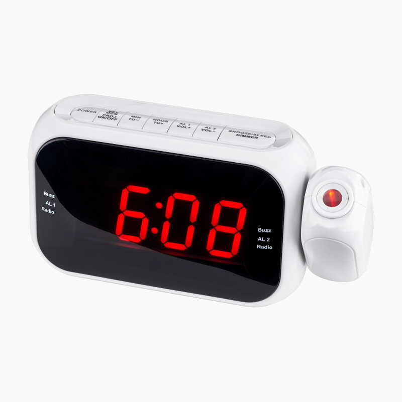 Projection Clock Radio