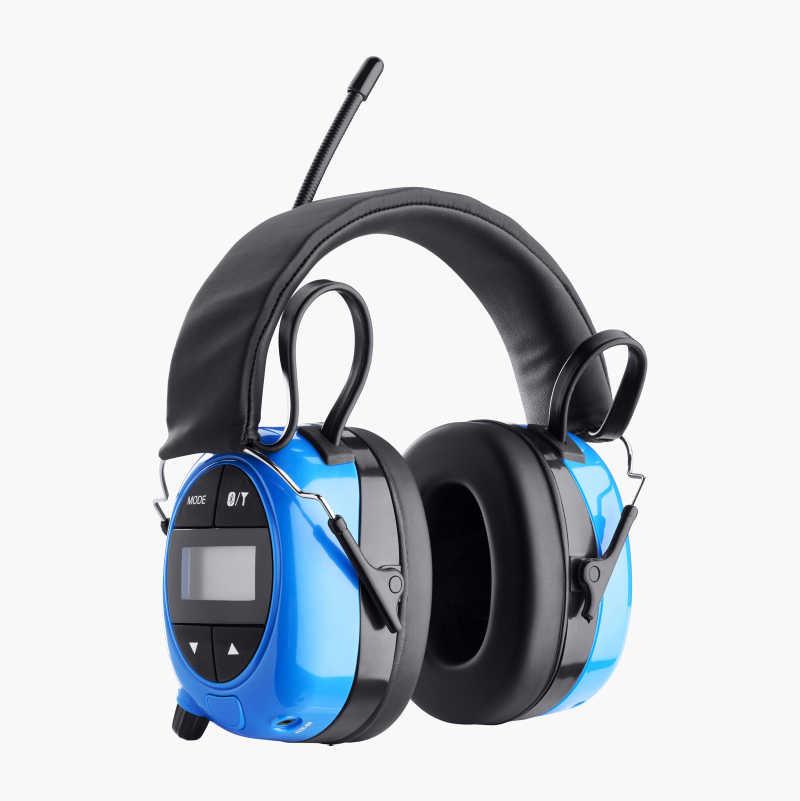 Hörselskydd med radio/AUX/Bluetooth