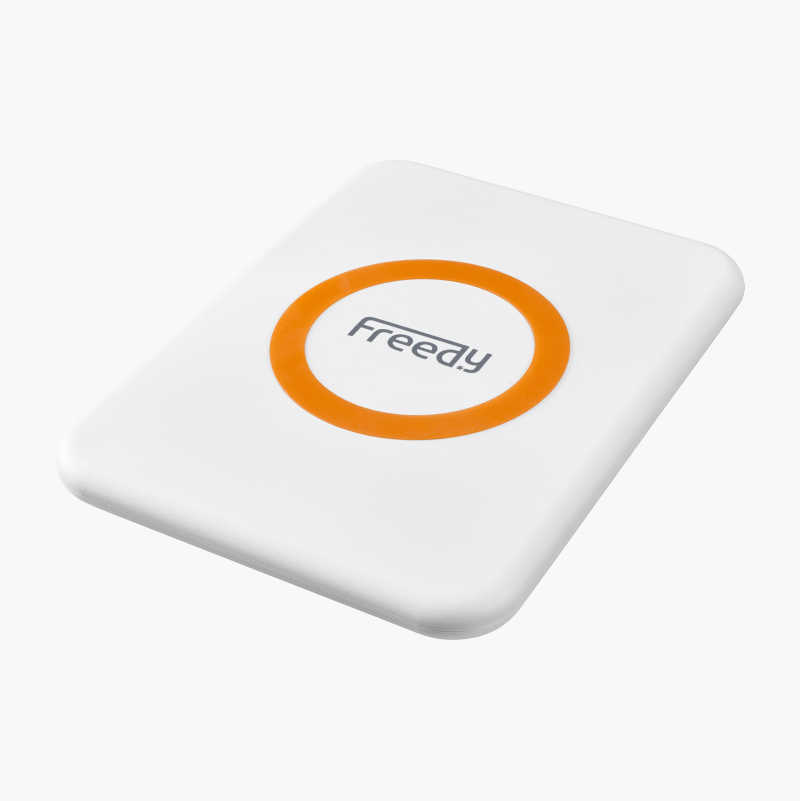 Wireless Qi-charging pad.