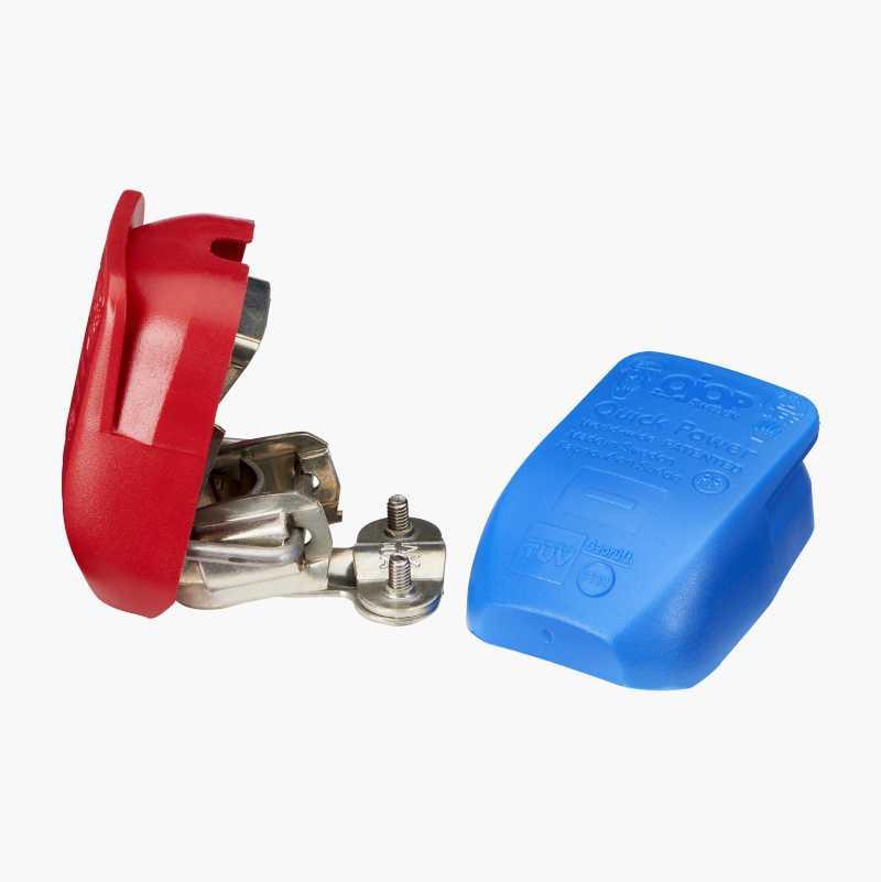 Batterikabelsko med hurtigkobling