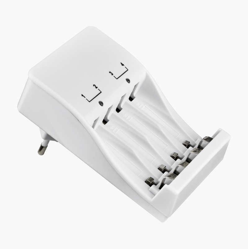 Battery Charger for 2/4 AA/AAA batteries