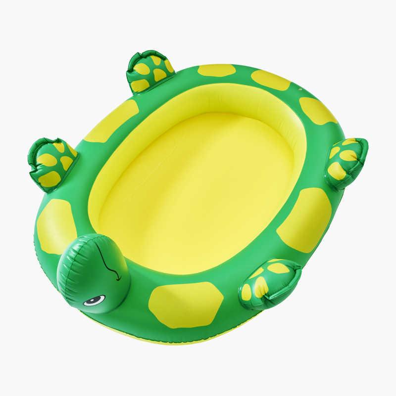 Badpool i form av en sköldpadda