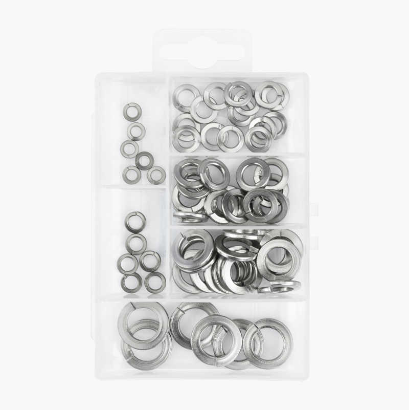Assortment Box, spring washers - 63 parts