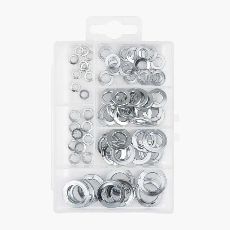 Assortment Box, spring washers - 66 parts