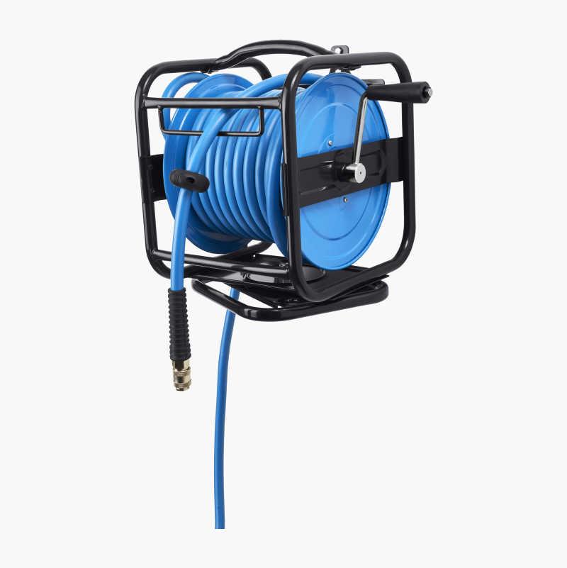 Hose reel 360°, compressed air