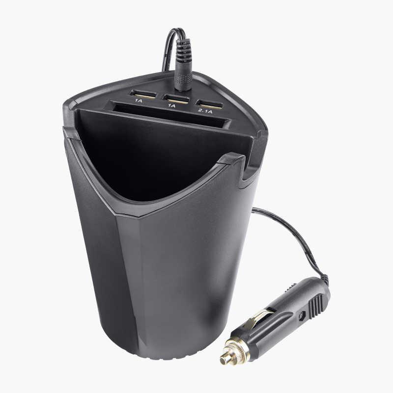 USB-laddare med förvaring