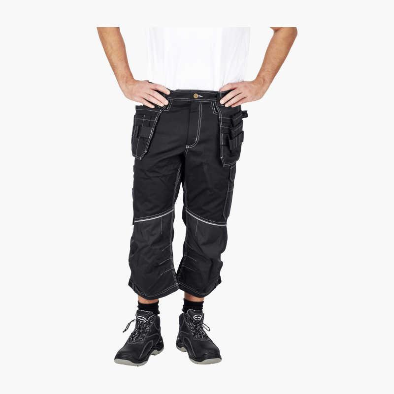 Three-quarter Shorts with stretch fabric
