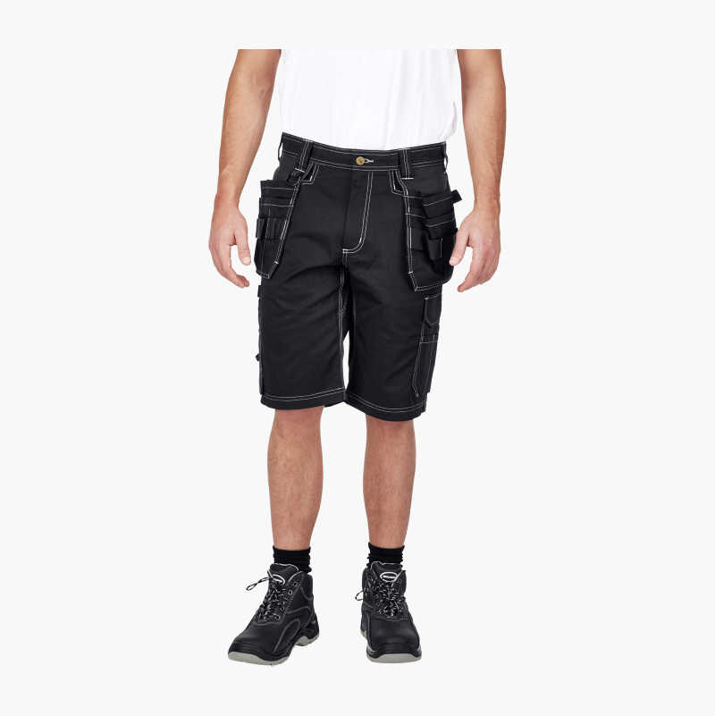 Craftsmen's Shorts with stretch fabric