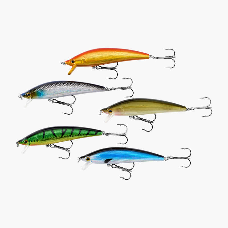 Wobbler, sinking, 5-pack