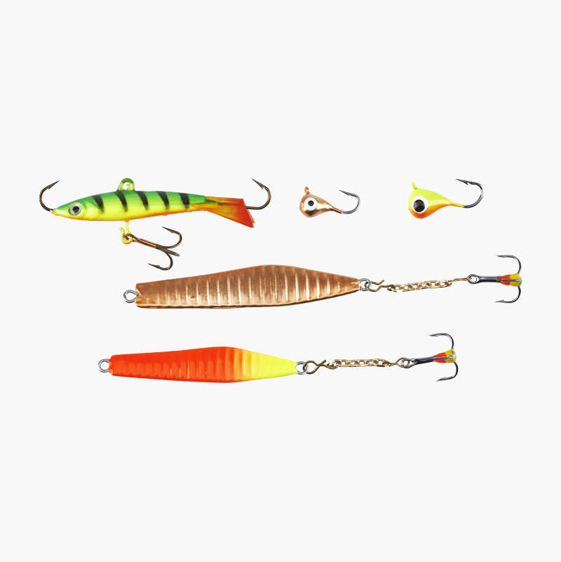 Ice Fishing Lures, 5-pack