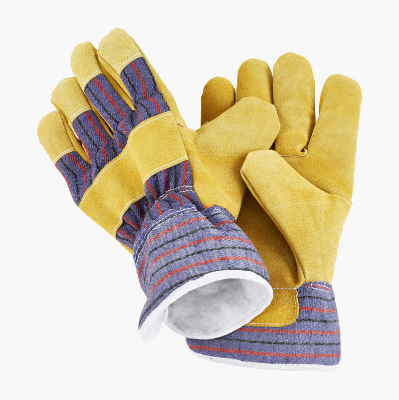 Leather Work Gloves 758