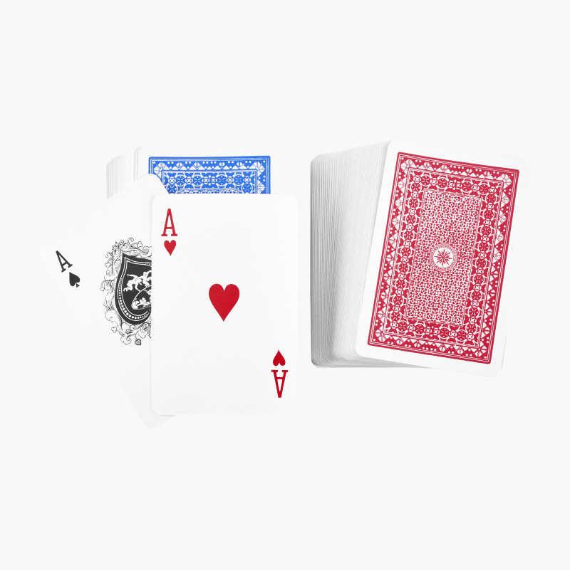 Kortspill, 2 stk.